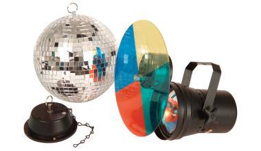 Efecte disco pentru acasa