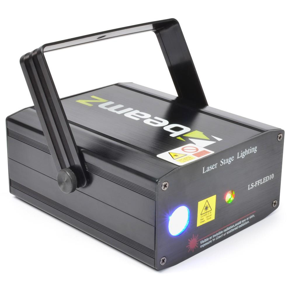 Laser LS-FFLED10 Rosu-Verde+Gobo+LED