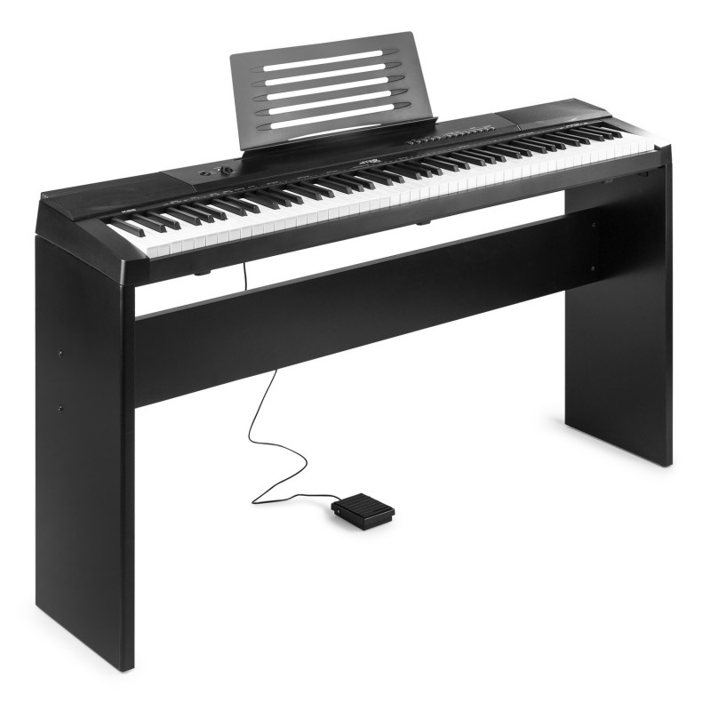 KB6W Claviatură electronică digitală cu suport mobilier, 88 de clape, Max