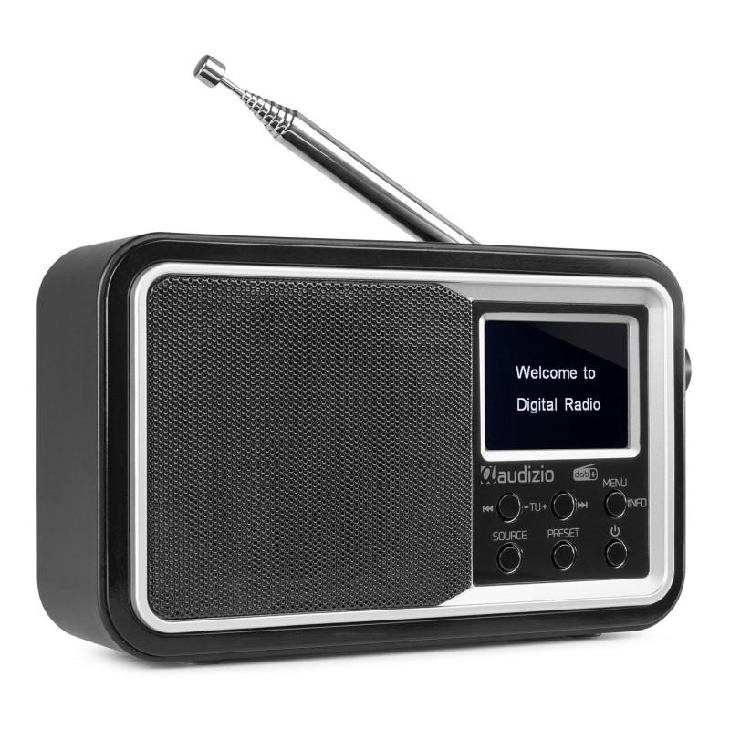 Parma Radio FM DAB+ cu acumulator, 5V, 15W, Bluetooth, Audizio