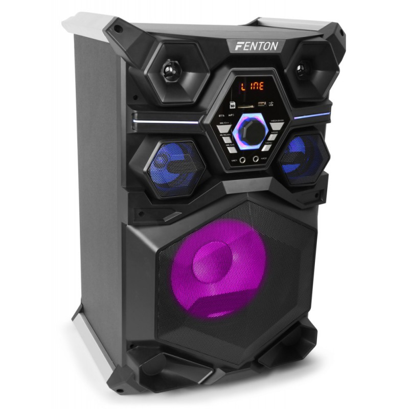 "LIVE101 Boxa activa partystation 10"" USB / Bluetooth 200W RMS"
