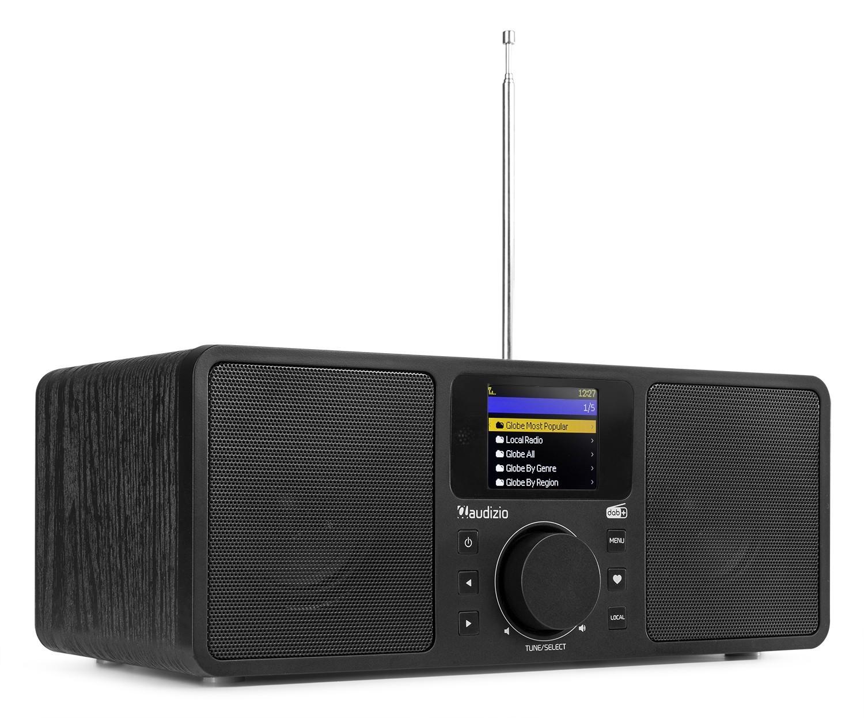 Rome Radio Wi-Fi, 2x25W, Tuner DAB+, Bluetooth, negru, Audizio