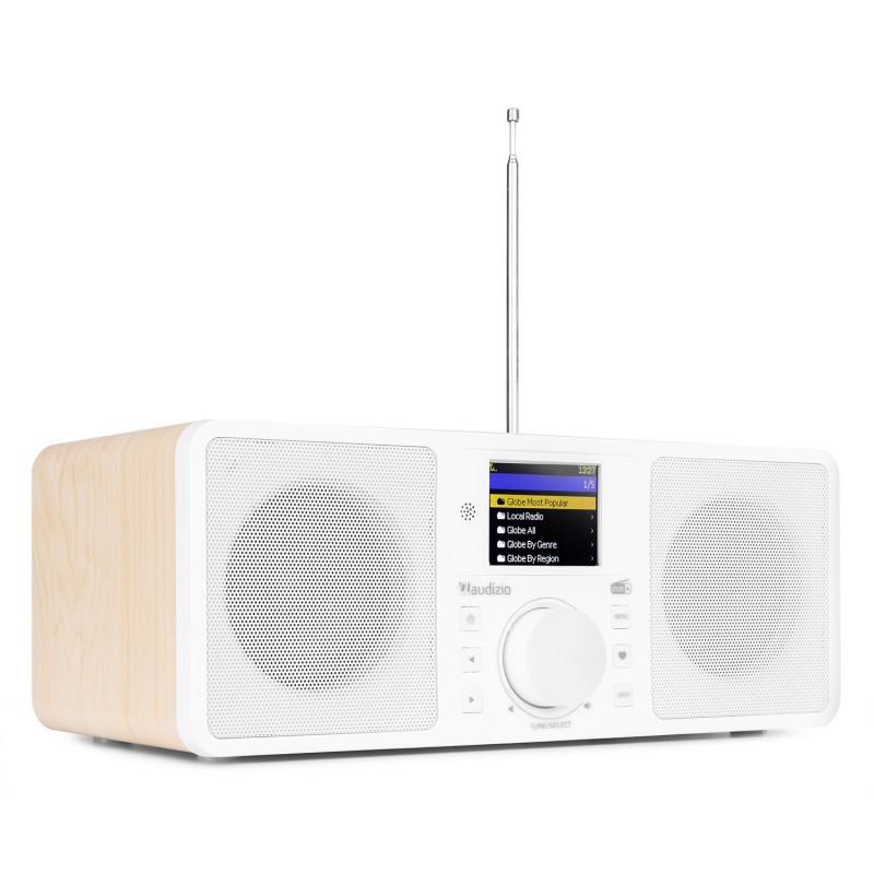 Rome Radio Wi-Fi, 2x25W, Tuner DAB+, Bluetooth, alb, Audizio